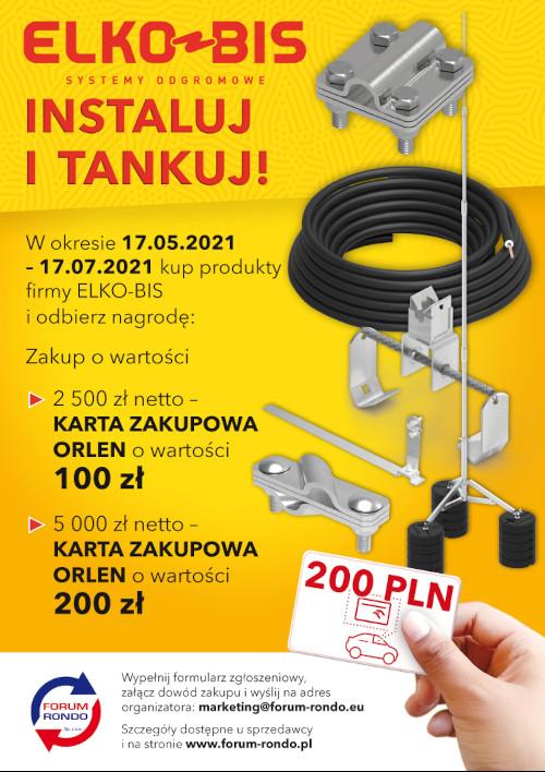 Elko-bis instaluj i tankuj - ulotka informacyjna