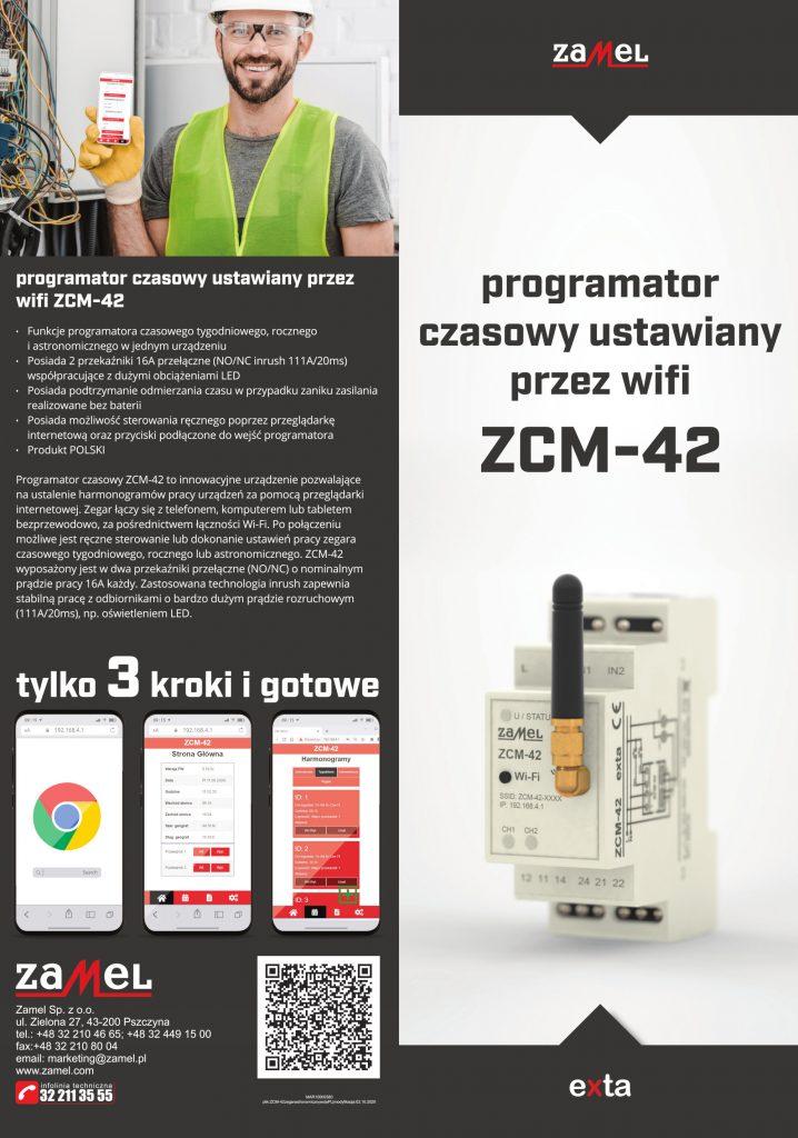 Opis programatora czasowego ZCM-42
