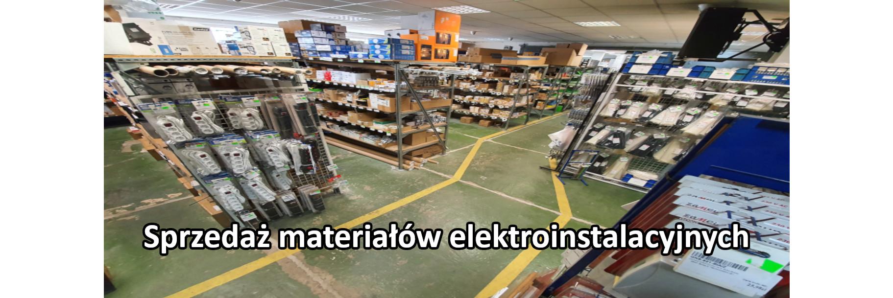 Materiały elektroinstalacyjne